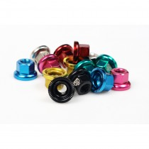 BLB - M10 Coloured Track Nuts silver