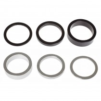 BLB - Headset Spacer - 1 1/8 black 2 mm
