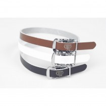 BLB - Single Leather Straps black