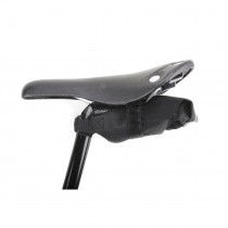 Chrome - Knurled Welded Racel Seat Bag