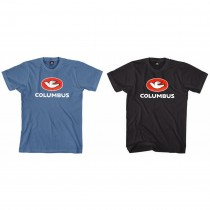Columbus - T-Shirt Logo Medium (M) blau