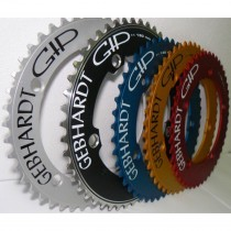 Gebhardt - Classic Track Chainring - 1/8 - 130BCD black 48t
