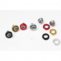 Goldsprint - Alloy Cup Crank Bolts black