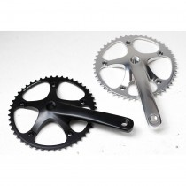 Goldsprint - Pista Crankset silver - 165 mm