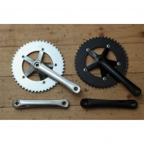 Goldsprint - Track crankset silver - 165 mm