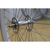 Laufradbau - Custom Wheel Building Hinterrad - 3x crossed