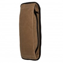 Mission Workshop - Arkiv Modular System - Vertical Zippered Pocket Waxed Canvas - braun