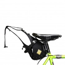 Restrap - Saddle Bag black/black