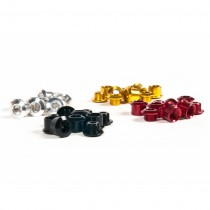 Traffic- single chainwheel bolts silver