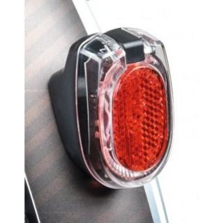B+M - Secula Batterie Light - red LED