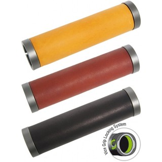 Contec - Traveller Leather LockOn Grips