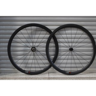 Goldsprint - Ultimate Road 38 Carbon Clincher Laufradsatz - Shimano/SRAM