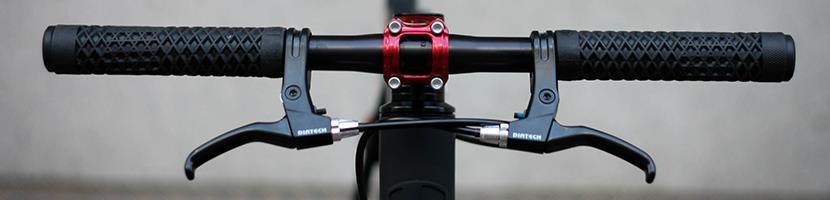 TEKTRO FL540 Caliper Canti Flat Handlebar Road Bike Brake Levers Set