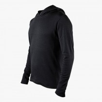 Mission Workshop - The Faroe: MC Pullover schwarz Large (L)