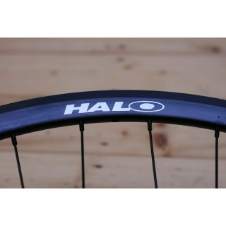 Halo - Aerotrack - Bahn-/Singlespeed Hinterrad - 32 Loch silber fixed / free