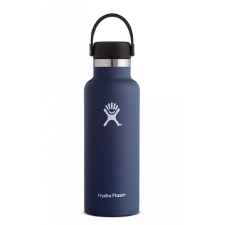 Hydro Flask - Insulated Water Bottle 18oz - Standard Mouth pacific (light blue)