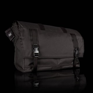 Mission Workshop - Shed Roll Top Messenger Bag olivgrün silber buckle