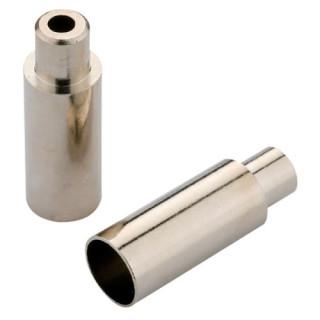 2 Stück Jagwire 4 oder 5 mm *Aluminium* Endkappen Bremszughülle Schaltzughülle