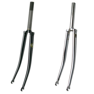 Soma - Lugged Track Fork - 1 Gewinde chrome 230 mm