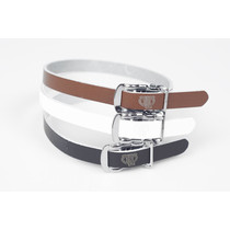 BLB - Single Leather Straps Pedalriemen dunkelbraun