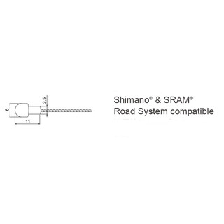 Jagwire - Road Basic Brake Inner Cable